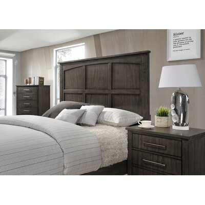 Drew Panel Headboard Size: King