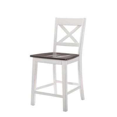 Altamirano Barstool (Set of 2) Color: White