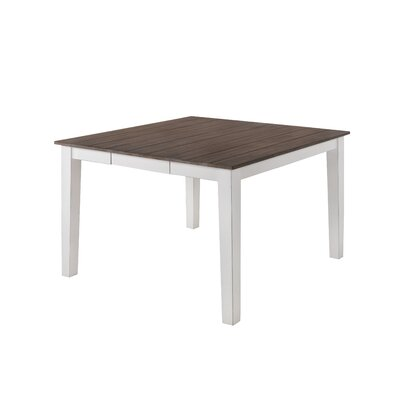 Altamirano Counter Height Dining Table Color: White