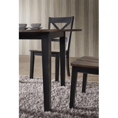 Altamirano Dining Table Color: Black