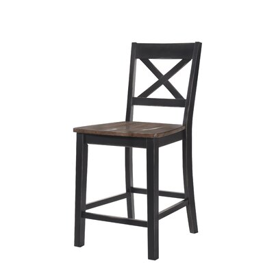 Altamirano Barstool (Set of 2) Color: Black