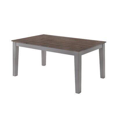 Altamirano Dining Table Color: Gray