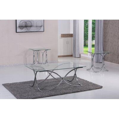 Bingaman 3 Piece Coffee Table Set