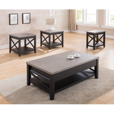 Dolliver 3 Piece Coffee Table Set by Simmons Casegoods