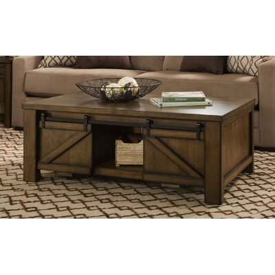 Dorcey Rectangular Coffee Table with Storage by Simmons Casegoods