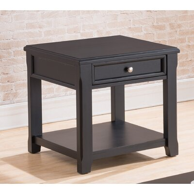Kaitlinn End Table with Storage by Simmons Casegoods
