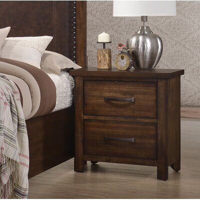 Drakes 2 Drawer Nightstand