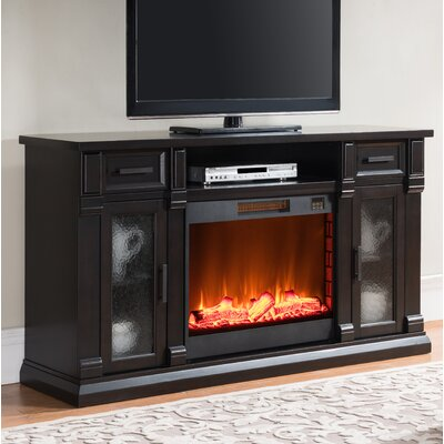 McKaylah Media Center 64 TV Stand with Fireplace