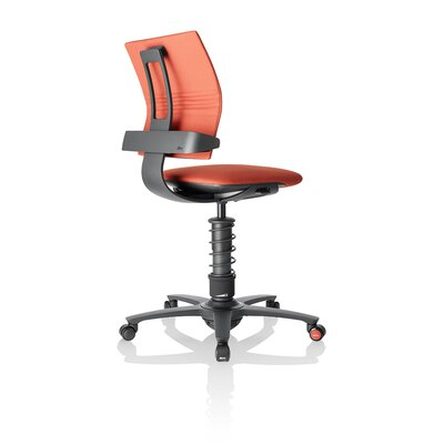 Motion Seating Active Office Chair Color: Red / Black Frame Product Image 1101