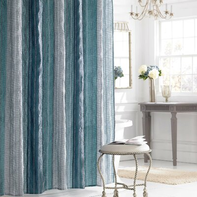 Sierra Shower Curtain Color: Saphire