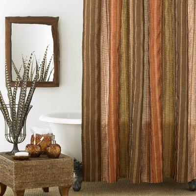 Sierra Shower Curtain Color: Copper