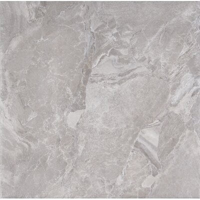 Canyon 18 x 18 Porcelain Field Tile in Grey