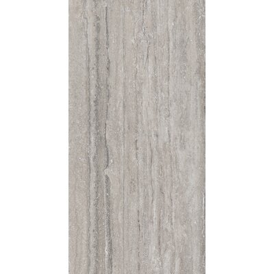 Al Contro Travertine 24 x 3 Bullnose Tile Trim in Grigio