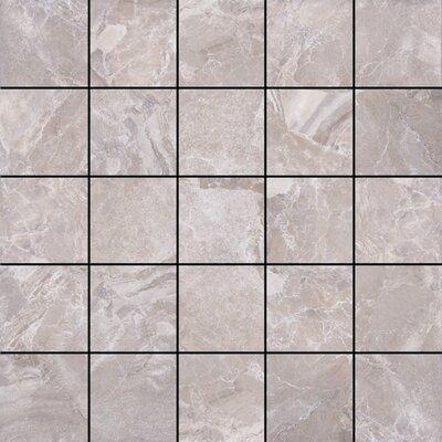 Canyon 13 x 13 Porcelain Mosaic Tile in Grey