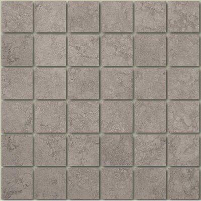 Castello 13 x 13 Porcelain Mosaic Tile in Grigio