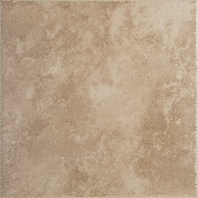 Como 20 x 20 Porcelain Field Tile in Ocra