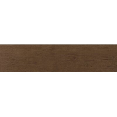 Essenze 6 x 24 Porcelain Wood Look/Field Tile in Noce Walnut