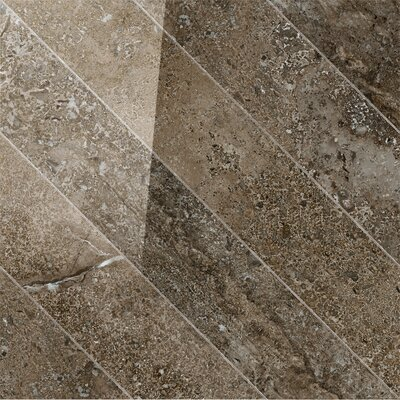 Vstone 19 x 19 Porcelain Field Tile in Pulpis Cross Semi Polished