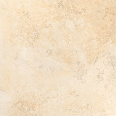 Gala Travertino 18 x 3 Bullnose Tile Trim in Ivory