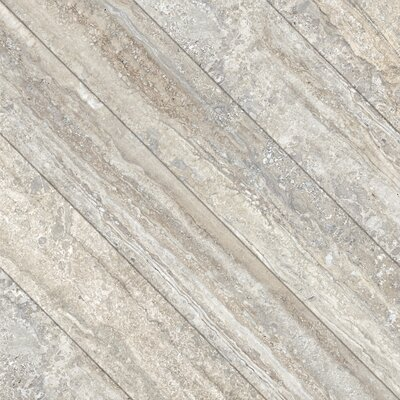 Vstone 19 x 19 Porcelain Field Tile in Nut Cross Matte