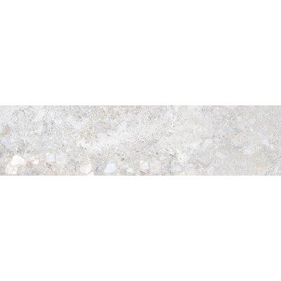 Vstone 9 x 38 Porcelain Field Tile in Silver Matte