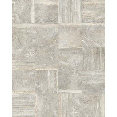 Vstone 19 x 19 Porcelain Field Tile in Nut Matte
