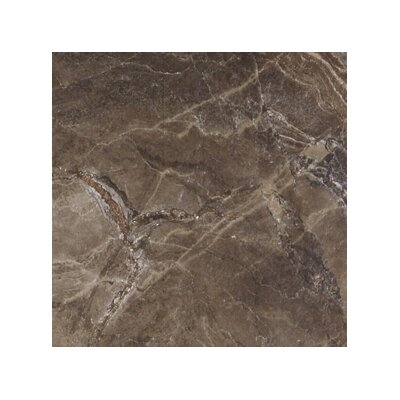 Canyon 18 x 18 Porcelain Field Tile in Noce