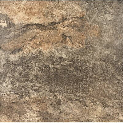 American Slate 20 x 20 Porcelain Wood Field Tile in Safari Green