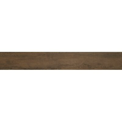 Mythos 6 x 40 Porcelain Field Tile in Brown