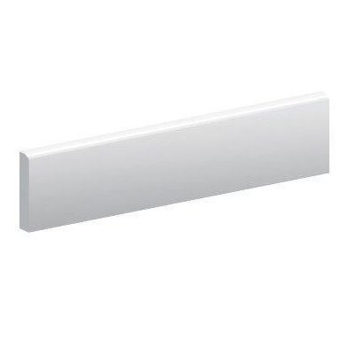 Canapa 24 x 3 Bullnose Tile Trim in White
