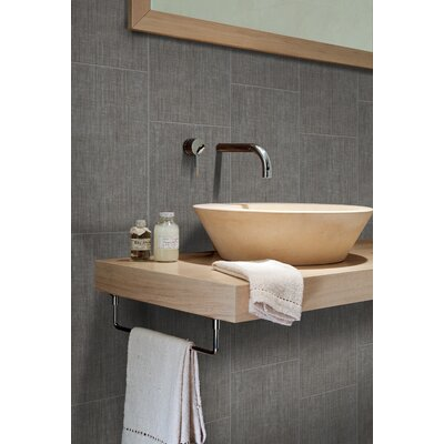 Canapa 24 x 3 Bullnose Tile Trim in Gray