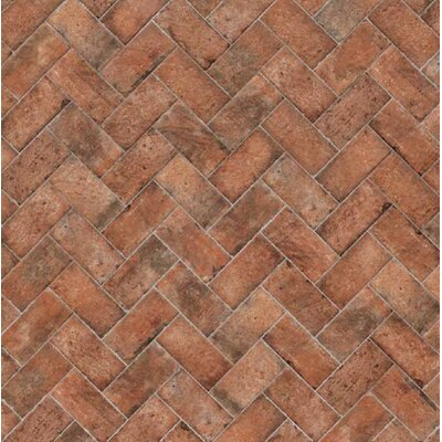 Chicago Brick 8 x 16 Porcelain Field Tile in Wrigley