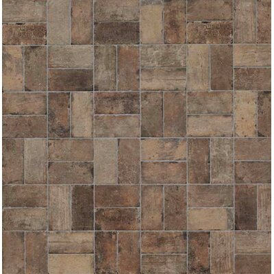 Chicago Brick 8 x 16 Porcelain Mosaic Tile in State Street