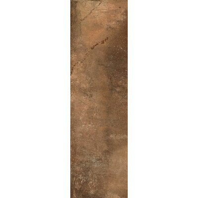 Argile 3 x 12 Porcelain Field Tile in Matte Brown