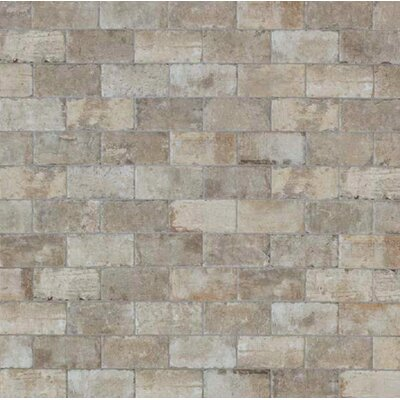 Chicago Brick 8 x 16 Porcelain Field Tile in South Side