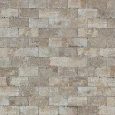 Chicago Brick 4 x 8 Porcelain Mosaic Tile in South Side