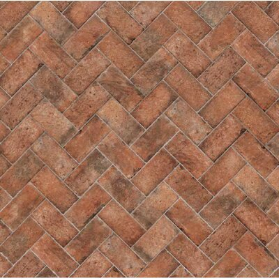 Chicago Brick 4 x 8 Porcelain Mosaic Tile in Wrigley