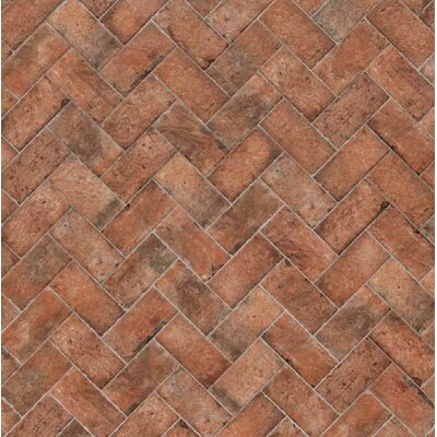 Chicago Brick 16 x 4 Stair Tile Trim in Wrigley
