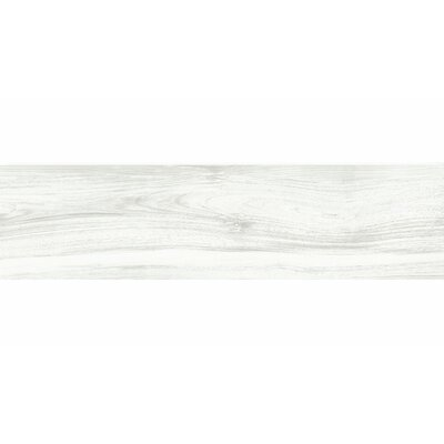 Deck 12 x 48 Porcelain Wood Look/Field Tile in White