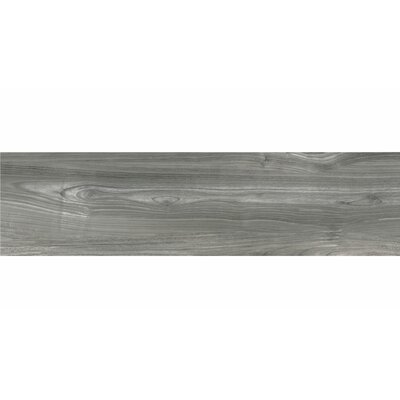 Deck 12 x 48 Porcelain Wood Look/Field Tile in Gray