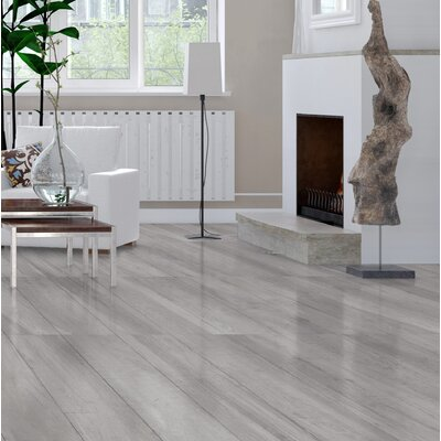 High Sierra 9 x 48 Porcelain Wood look Tile in Bianco White