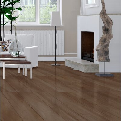 High Sierra 9 x 48 Porcelain Wood look Tile in Marron