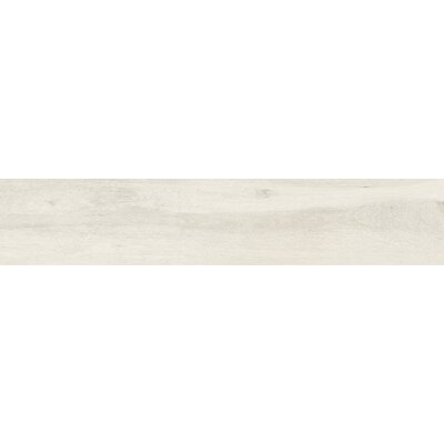 Atelier 9 x 34.5 Porcelain Wood Look Tile in Blanco