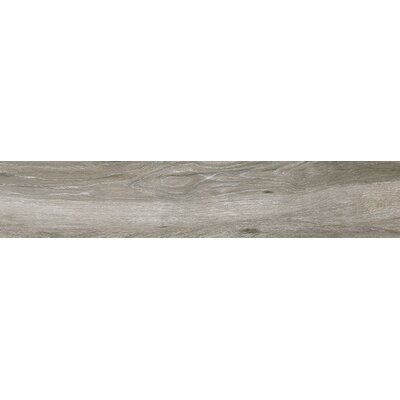 Atelier 9 x 34.5 Porcelain Wood Look Tile in Gris