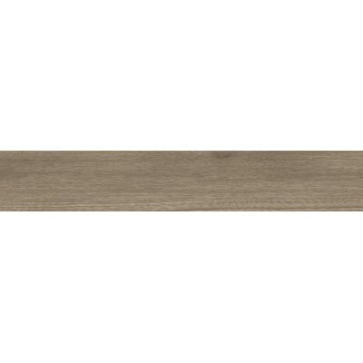 Bonas 6 x 36 Porcelain Wood Look Tile in Brown