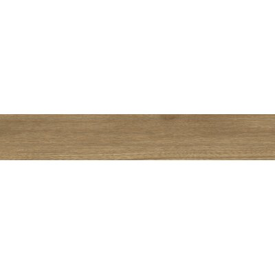Bonas 6 x 36 Porcelain Wood Look Tile in Camel