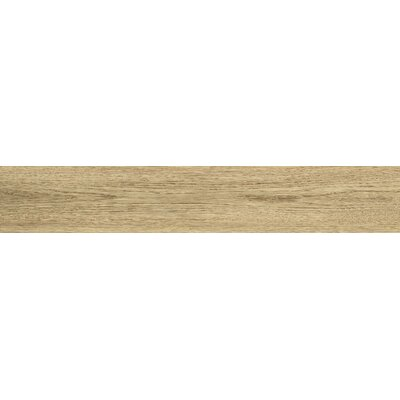 Bonas 6 x 36 Porcelain Wood Look Tile in Natural