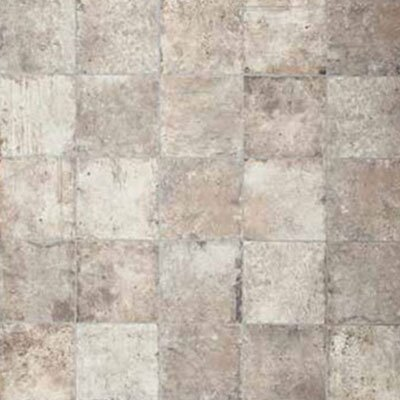 Chicago Brick 8 x 8 Porcelain Field Tile in White/Gray
