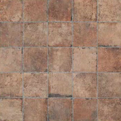 Chicago Brick 8 x 8 Porcelain Field Tile in Brown