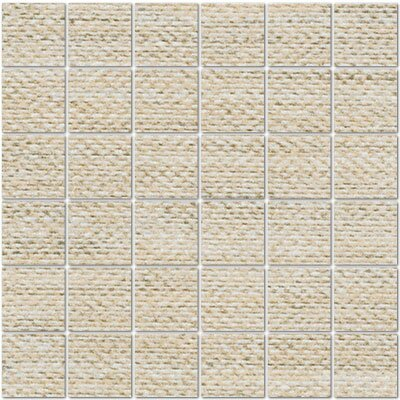 Craft 2 x 2 Porcelain Mosaic Tile in Yarn